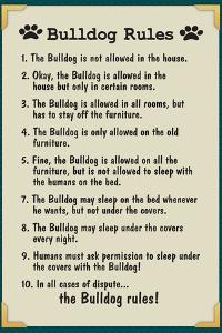 Bulldog House Rules
