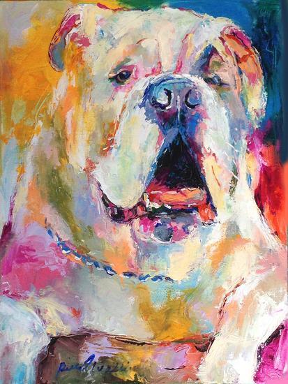 Bulldog-Richard Wallich-Art Print