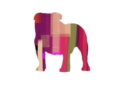 Bulldog-NaxArt-Art Print