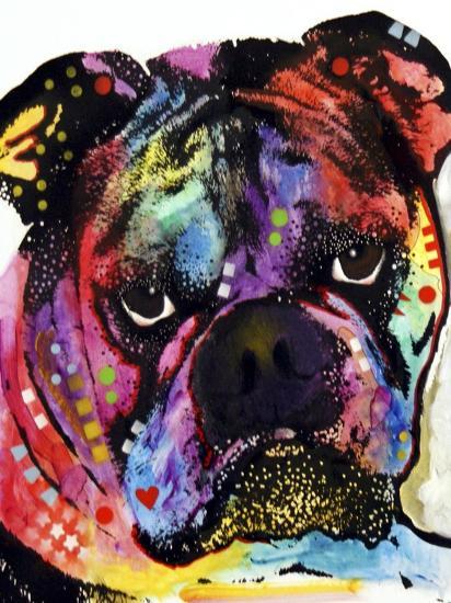Bulldog-Dean Russo-Giclee Print