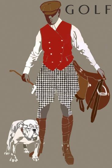 Bulldog--Giclee Print