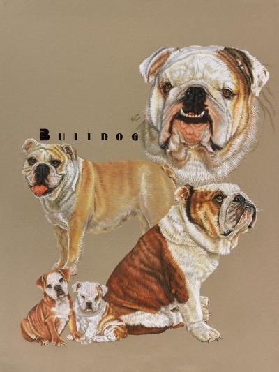 Bulldog-Barbara Keith-Giclee Print