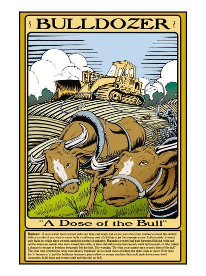Bulldozer-Wilbur Pierce-Art Print