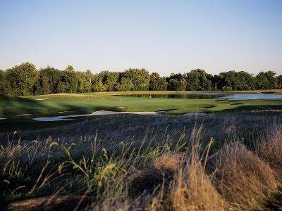 Bulle Rock Golf Course with lake-Stephen Szurlej-Premium Photographic Print