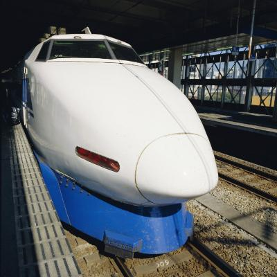 Bullet Train, Tokyo, Japan-Christopher Rennie-Photographic Print