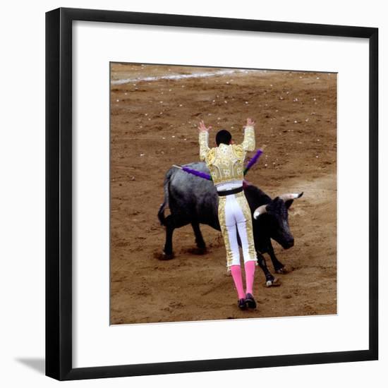 Bullfight or Fiesta Brava, San Luis Potosi, Mexico-Russell Gordon-Framed Photographic Print