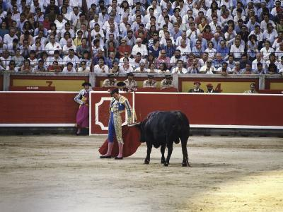Bullfight, Pamplona, Spain--Photographic Print