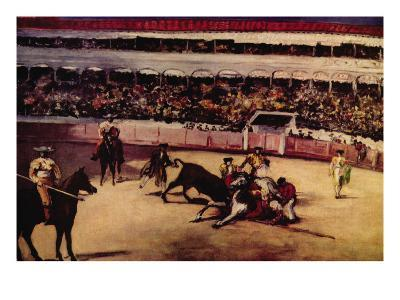 Bullfight-Edouard Manet-Art Print