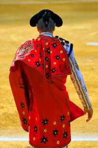 Bullfighter Entering Bullring