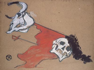 Bullfighting-Henri de Toulouse-Lautrec-Giclee Print