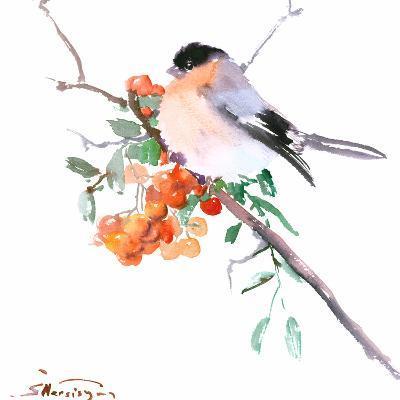 Bullfinch-Suren Nersisyan-Art Print