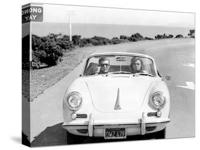 Bulitt Steve McQueen Multi Size Canvas Wall Art Movie Poster Print Actor 1968