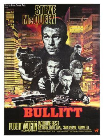 Steve McQueen Hell Is for Heroes BW Scene Poster