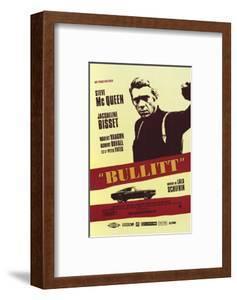 Bullitt, French Movie Poster, 1968