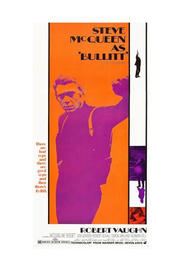 Bullitt, Steve McQueen, 1968--Art Print