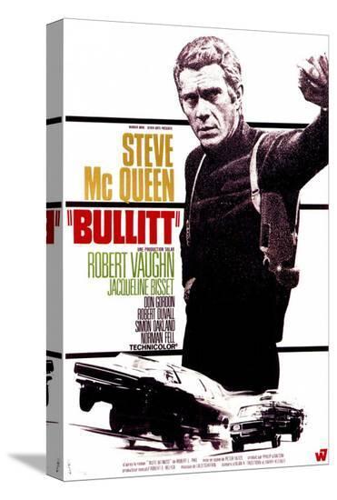 Bullitt--Stretched Canvas Print
