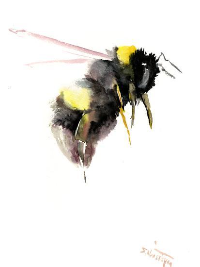 Bumblebee 3-Suren Nersisyan-Art Print