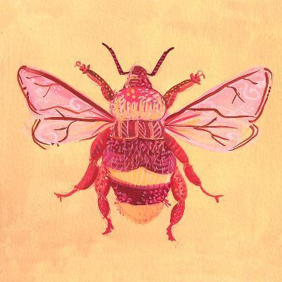 Bumblebee1-Cara Kozik-Art Print
