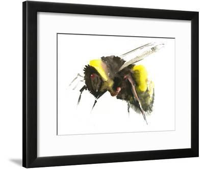 Bumblebee1-Suren Nersisyan-Framed Art Print