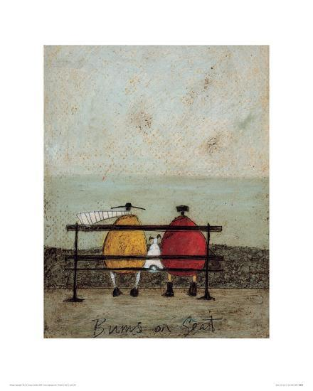 Bums On Seat-Sam Toft-Giclee Print