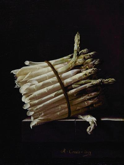 Bunch of Asparagus, 1703-Adrian Coorte-Giclee Print