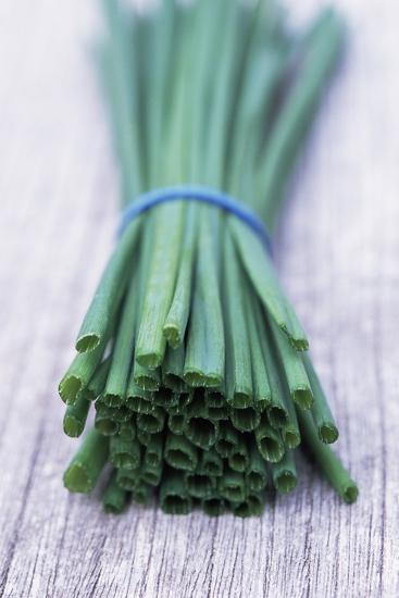 Bunch of Chives-Maxine Adcock-Photographic Print