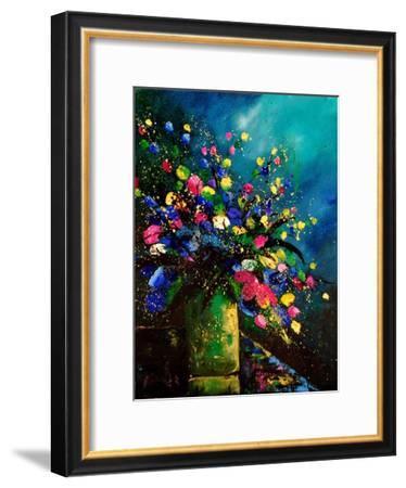 Bunch of Flowers 0807-Pol Ledent-Framed Art Print