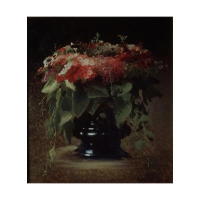 Bunch of Flowers. Phloxes, 1884-Ivan Nikolayevich Kramskoi-Giclee Print