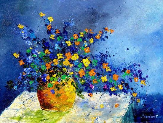 bunch of flowers-Pol Ledent-Art Print