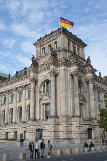 Bundestag, Berlin, Germany-Inger Hogstrom-Photographic Print