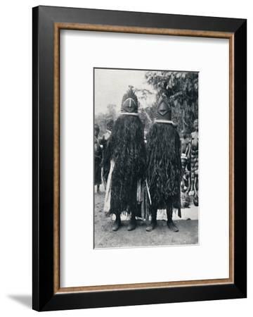 Bundu 'devil dancers', Sierra Leone, 1912-Cecil H Firmin-Framed Photographic Print