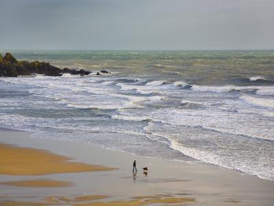 Bunmahon Strand, the Copper Coast, County Waterford, Ireland--Photographic Print