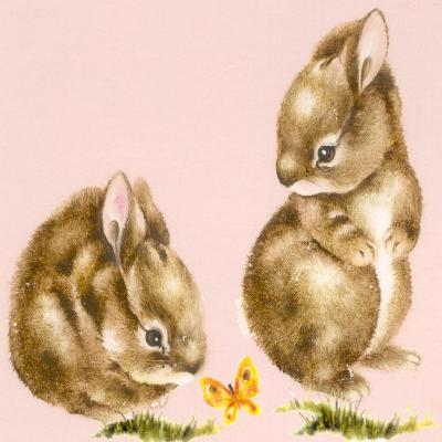 Bunnies-Peggy Harris-Giclee Print