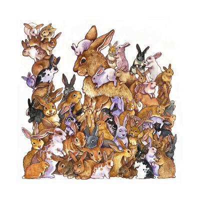 Bunnies-Wendy Edelson-Giclee Print