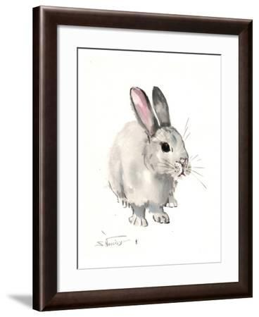 Bunny 3-Suren Nersisyan-Framed Art Print