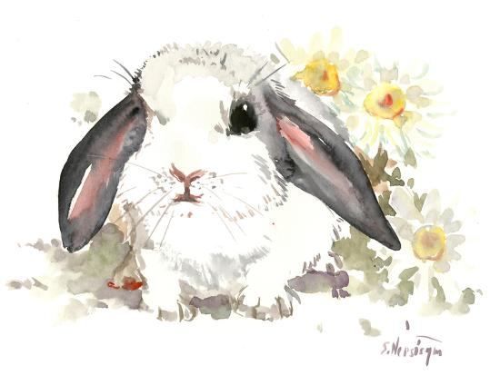 Bunny 7-Suren Nersisyan-Art Print