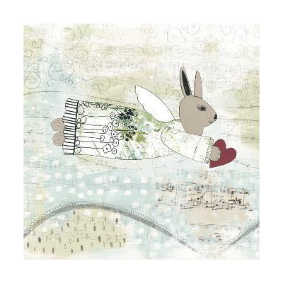 Bunny Angel-Sarah Ogren-Art Print