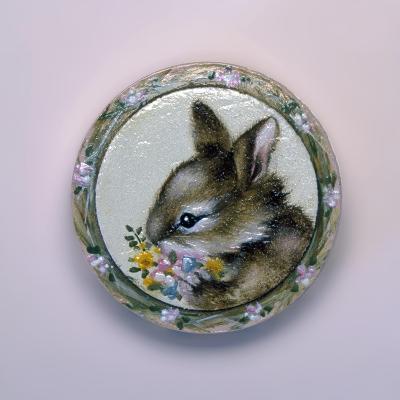 Bunny Circle II-Peggy Harris-Giclee Print