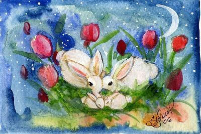 Bunny Family-sylvia pimental-Art Print