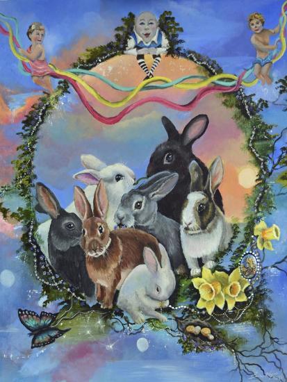Bunny Festival-Sue Clyne-Giclee Print