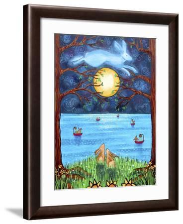 Bunny Moon Magic-Shelagh Duffett-Framed Giclee Print