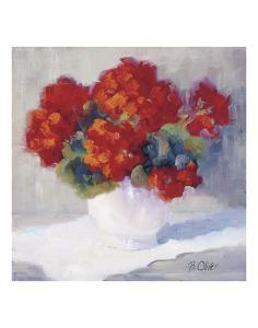 Red Geraniums by Bunny Oliver