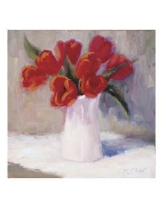 Red Tulips by Bunny Oliver