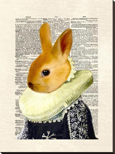 Bunny Royal-Matt Dinniman-Stretched Canvas Print