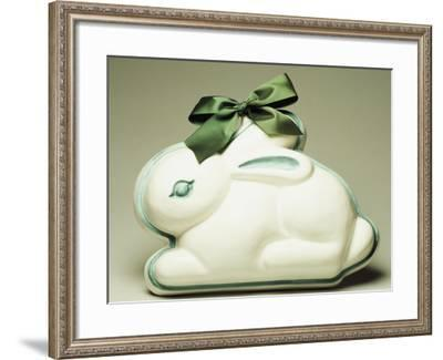 Bunny-Shaped Mold, Ceramic--Framed Giclee Print
