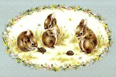 Bunny Tales-Peggy Harris-Giclee Print