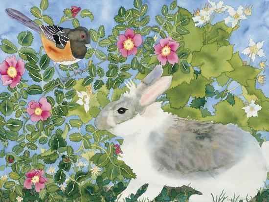 Bunny with Towee-Carissa Luminess-Giclee Print
