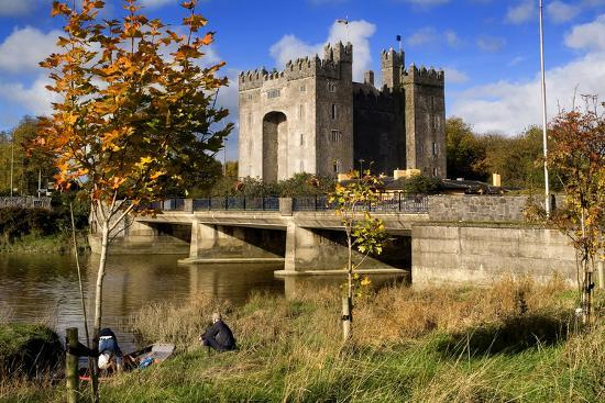 Bunratty Castle on the River Shannon in County Clare, Ireland-Chris Hill-Photographic Print