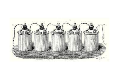 Bunsen's Battery--Giclee Print
