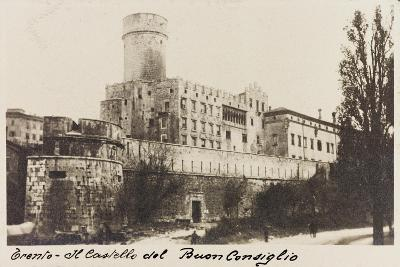 Buonconsiglio Castle in Trento During the First World War-Vincenzo Aragozzini-Giclee Print